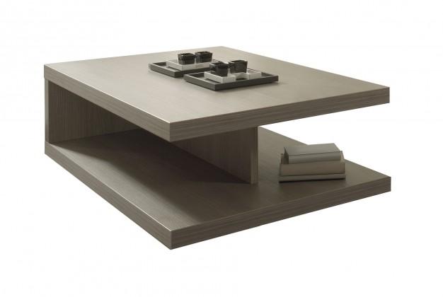 Konfereční stolek - dřevěný Cova - Konferenční stolek C076 (dub šedý)