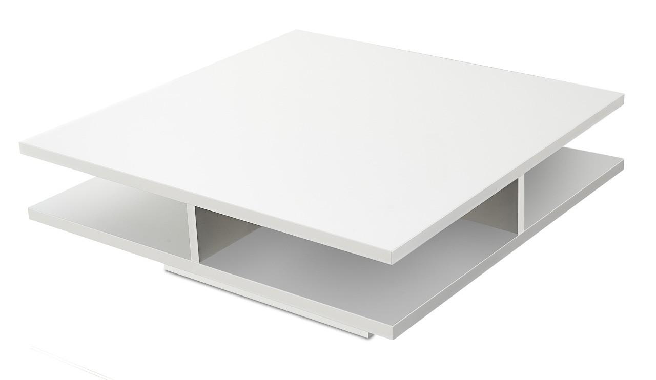 Konfereční stolek - dřevěný Game plus - konferenční stolek (bílá)