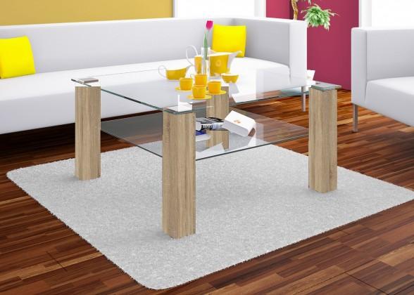 Konfereční stolek - dřevěný Isola - konferenční stolek