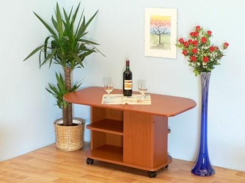 Konfereční stolek - dřevěný K 53+kol (Buk)