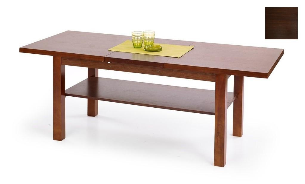 Konfereční stolek - dřevěný Kendra(ořech tmavý)