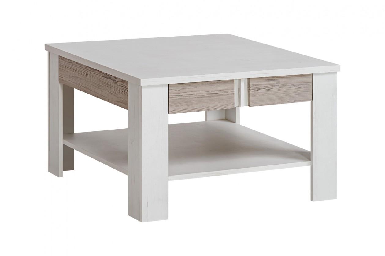 Konfereční stolek - dřevěný Konferenční stolek Alvo (andersen white pine/andersen beige)