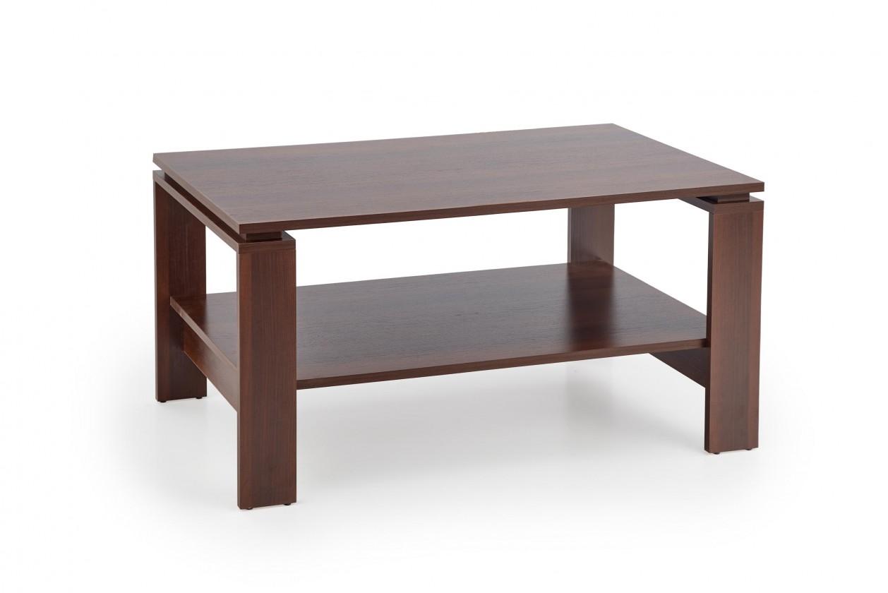 Konfereční stolek - dřevěný Konferenční stolek Andrea (černý ořech)