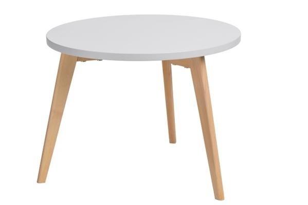 Konfereční stolek - dřevěný Konferenční stolek Bergen - velký (šedá deska/dub nohy)