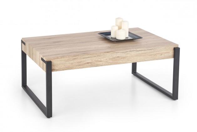 Konfereční stolek - dřevěný Konferenční stolek Capri (hnědá)