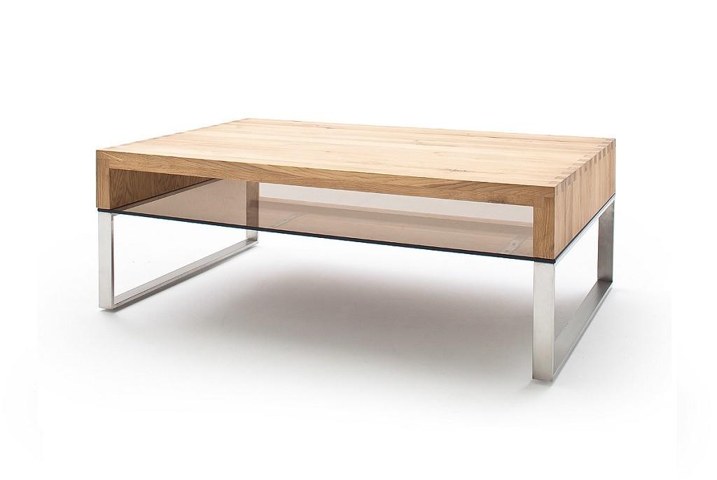 Konfereční stolek - dřevěný Konferenční stolek Maren - 110x39x70 (dub, hnědá)