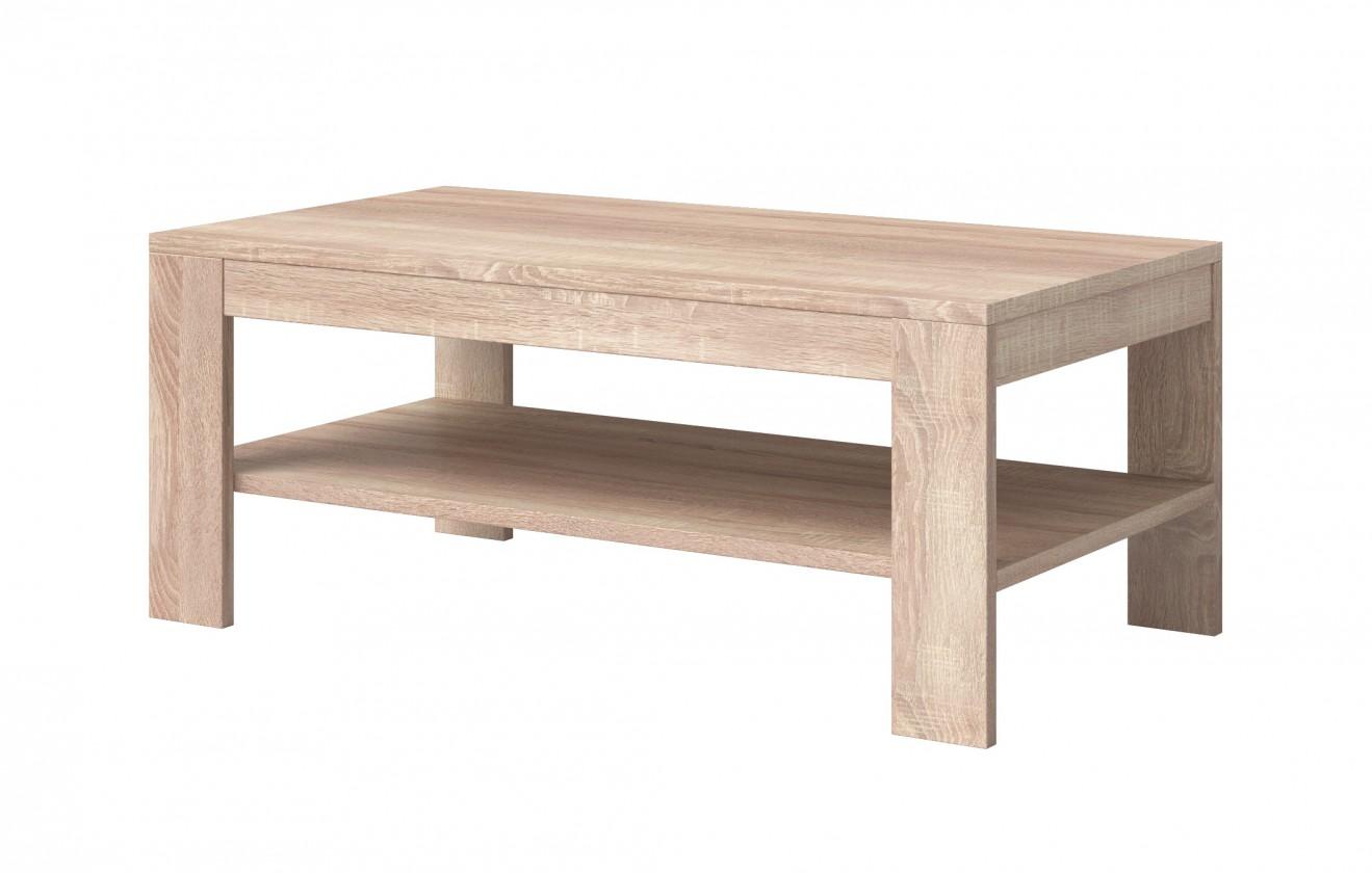 Konfereční stolek - dřevěný Konferenční stolek Nemesis (dub sonoma)