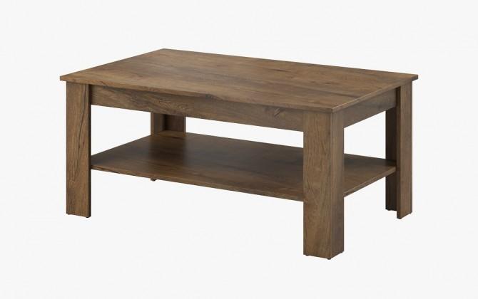 Konfereční stolek - dřevěný Konferenční stolek Nive - obdélník (dub burgundský)