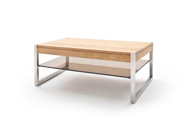 Konfereční stolek - dřevěný Konferenční stolek Saget - 105x38x65 (dub, hnědá)