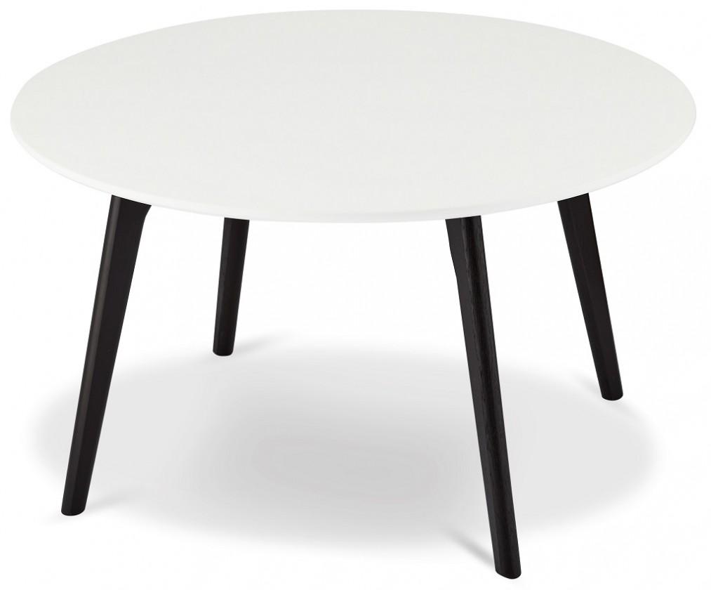Konfereční stolek - dřevěný Konferenční stolek Sens (bílá, černá)