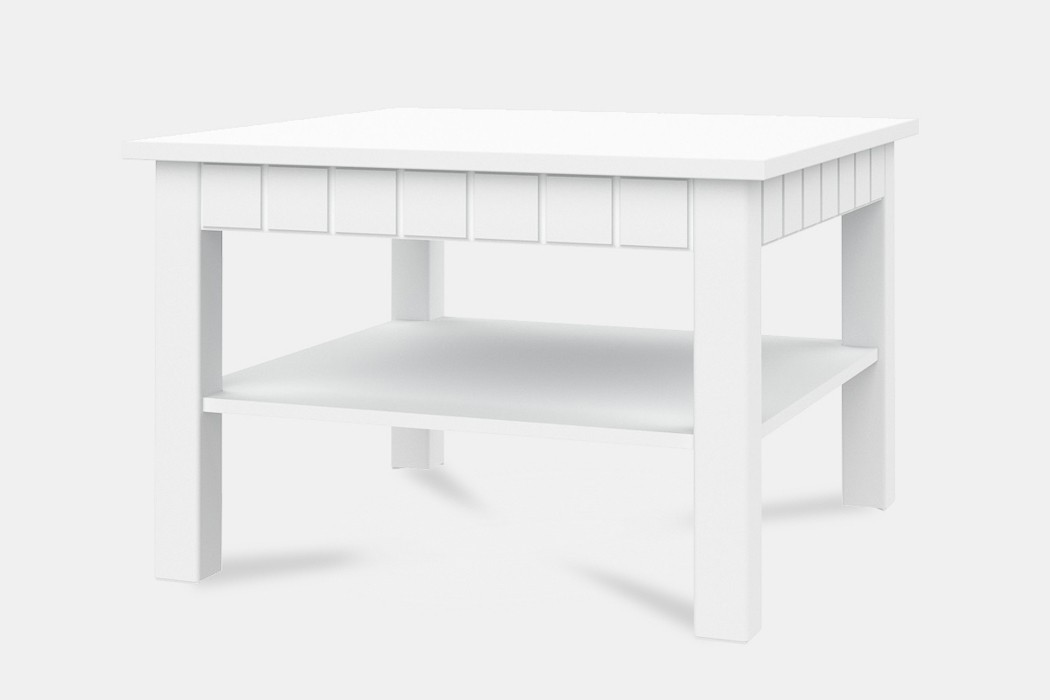 Konfereční stolek - dřevěný Konferenční stolek Tampere - Typ 40 (bílá arctic)