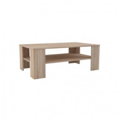 Konfereční stolek - dřevěný Lino II - Konferenční stůl (sonoma)