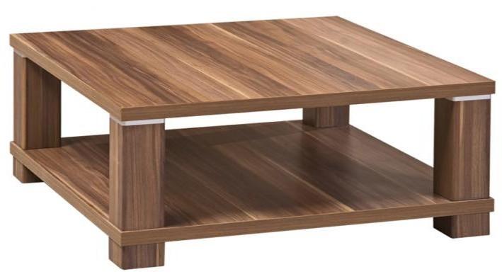 Konfereční stolek - dřevěný Lochi (Švestka)