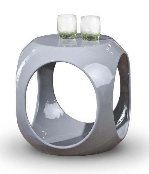 Konfereční stolek - dřevěný Nono(šedá)