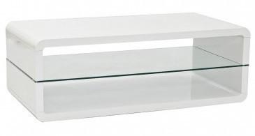 Konfereční stolek - dřevěný Oklahoma (Bílá)