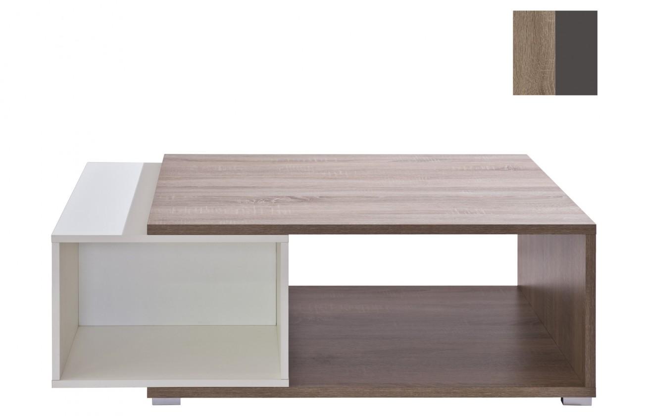Konfereční stolek - dřevěný Preto(dub truffel/grafit)
