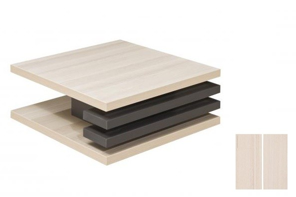 Konfereční stolek - dřevěný Rail 2 (Jasan Coimbra/Jasan Coimbra)