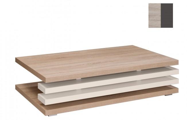 Konfereční stolek - dřevěný Rail(san remo sand/grafit)