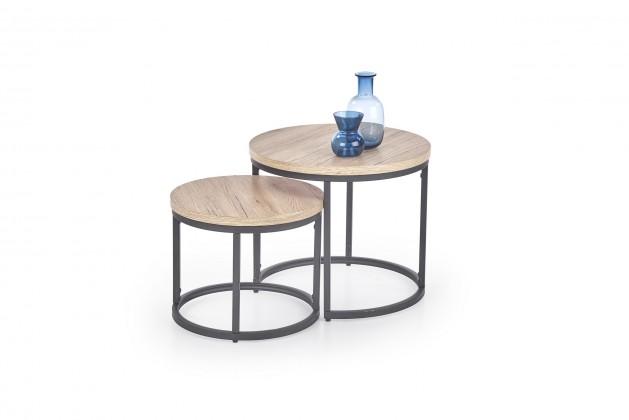 Konfereční stolek - dřevěný Sada dvou stolků Oreo