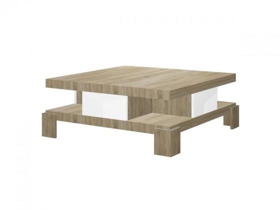 Konfereční stolek - dřevěný Salina - konferenční stolek