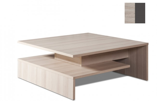 Konfereční stolek - dřevěný Selar II(san remo sand/grafit)