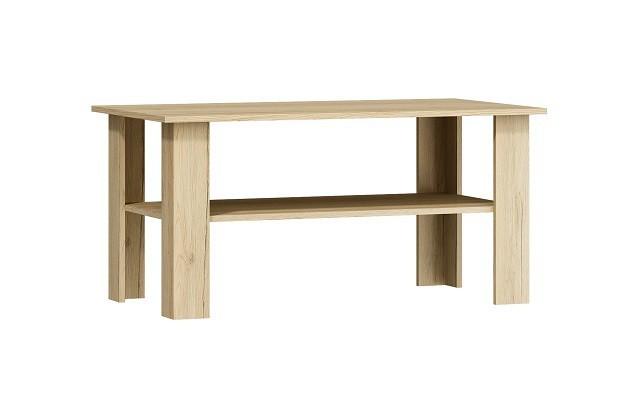 Konfereční stolek - dřevěný Sergio - Konferenční stolek (san remo světlý)