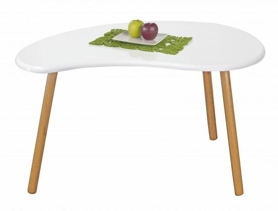 Konfereční stolek - dřevěný Spring 1 - Konferenční stolek (bílá)