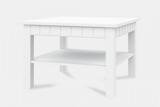 Konfereční stolek - dřevěný Tampere - Typ 40 (bílá arctic)