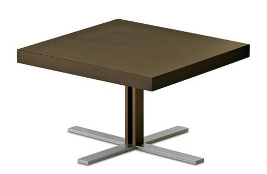 Konfereční stolek - dřevěný Tosca-Q - Konferenční stolek (hliník, wenge)
