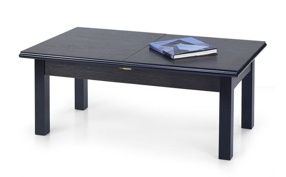 Konfereční stolek - dřevěný Tytus(ořech tmavý)
