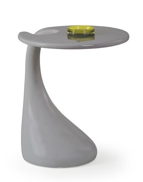 Konfereční stolek - dřevěný Viva(šedá)