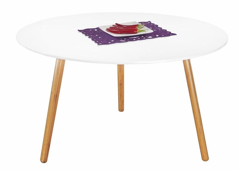 Konfereční stolek - dřevěný Winter 2 - Konferenční stolek (bílá)