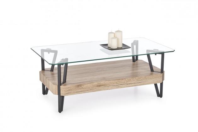 Konferenční stolek Abrilla (sklo)