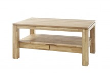 Konferenční stolek Alkor - 115x54x70 (dub, hnědá)