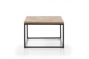 Konferenční stolek Devon (čtverec, hnědá)