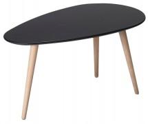 Konferenční stolek Gert (černá)
