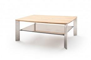 Konferenční stolek Harla - 120x41x70 (dub, hnědá)
