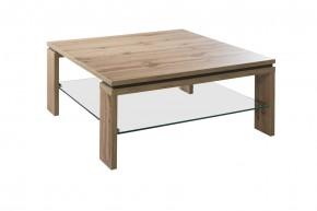 Konferenční stolek Lilly - čtvercový (dub wotan)