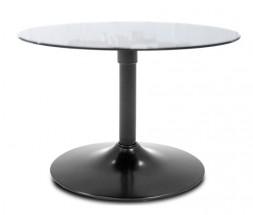 Konferenční stolek  LOLA 9307-090+TRUMPET 9341-824 (sklo/černá)