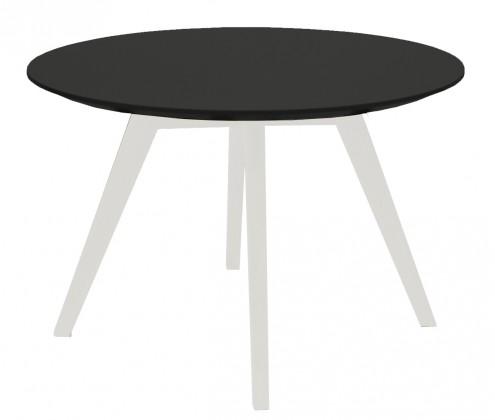 Konferenční stolek Lola Bess - černá, bílá (9317-001+9366-024)