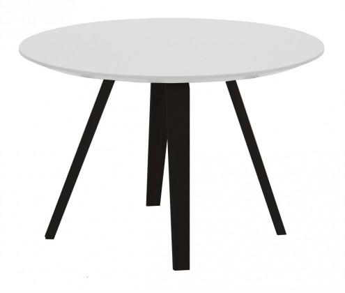 Konferenční stolek Lola Ella - bílá, černá (9315-024+9366-001)