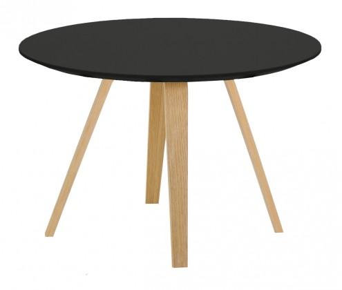 Konferenční stolek Lola Ella - černá, dub (9315-054+9366-024)