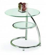 Konferenční stolek Luna (sklo)