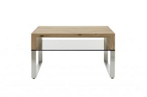 Konferenční stolek Maren - 70x39x70 (dub, hnědá)