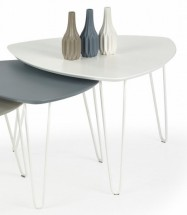 Konferenční stolek Nikita  (bílá)
