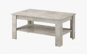 Konferenční stolek Nive - obdélník (beton jasný) II. jakost