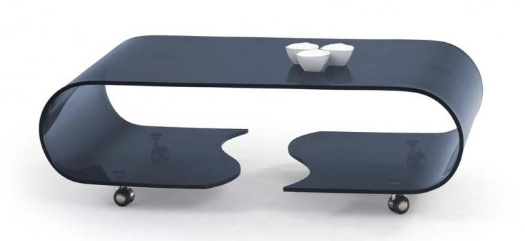 Konferenční stolek Penelope (grafit)