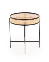 Konferenční stolek Pilea (natural, černá)