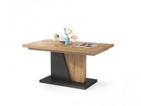 Konferenční stolek rozkládací Flox 2 (dub artisan, antracit)