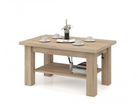 Konferenční stolek rozkládací Indra (dub sonoma)